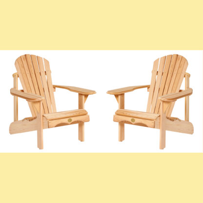 Adirondack Bear Chair Zedernholz BC201C - 2er Frühlings-Aktion