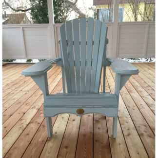 Adirondack Bear Chair Pinienholz BC201P, Teresa's Green (aus der Farbpalette von Farrow and Ball)