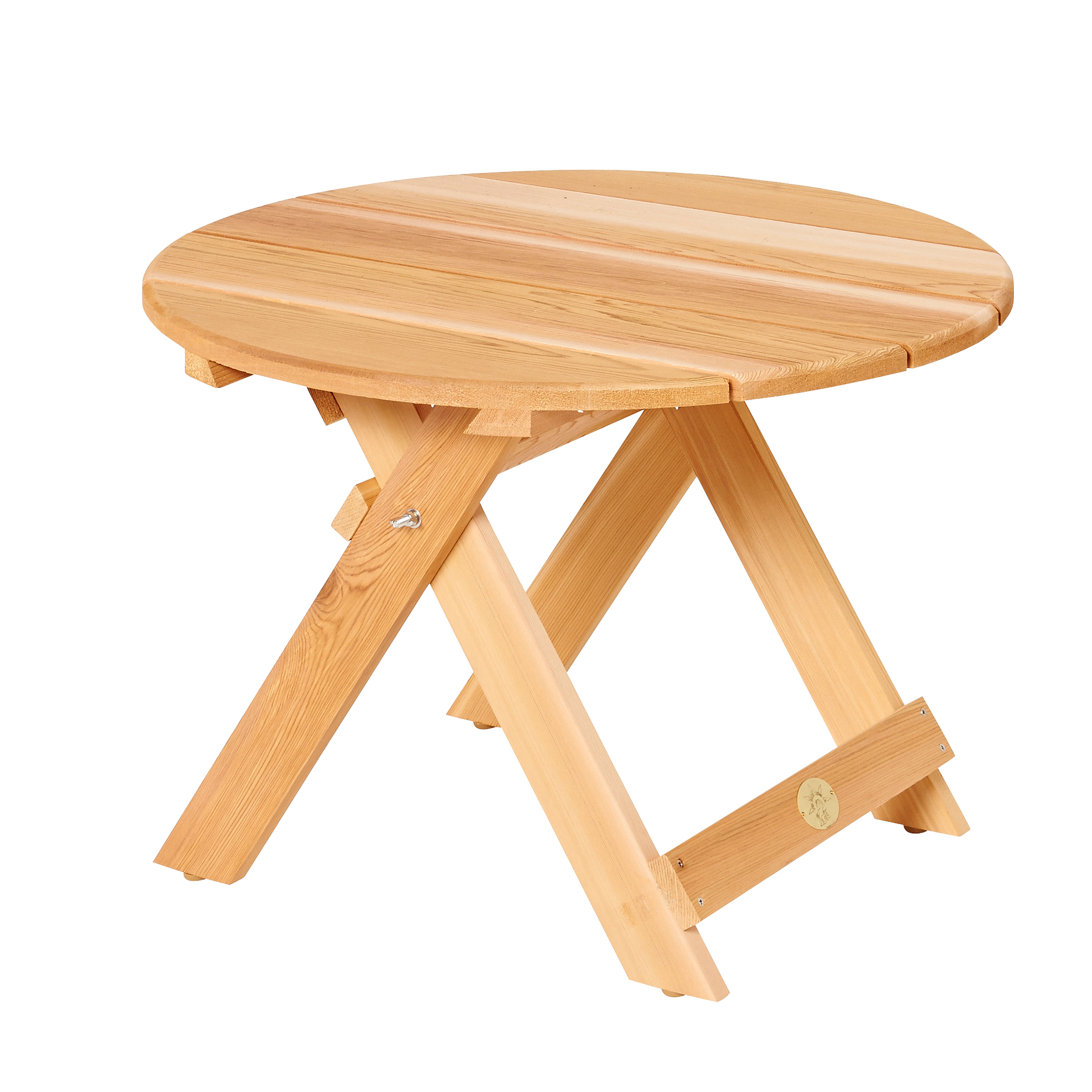 Bear Chair Folding Table / Falttisch BC02C, Durchmesser 70cm